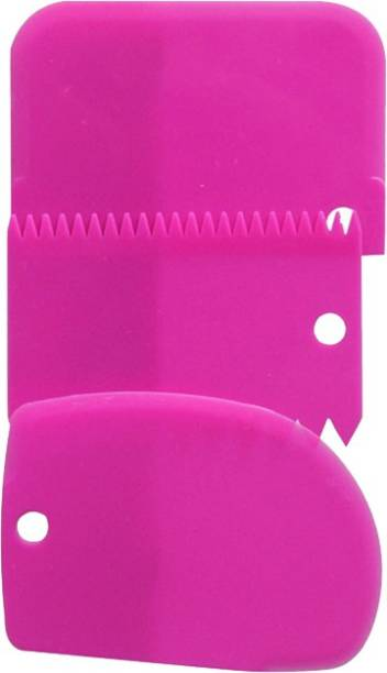 futaba Cake decorating scraper Baking Tools - 3 Pcs - Pink Cookie Cutter