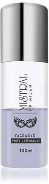 mistral of milan FACE & EYE MAKE UP REMOVER Makeup Remover