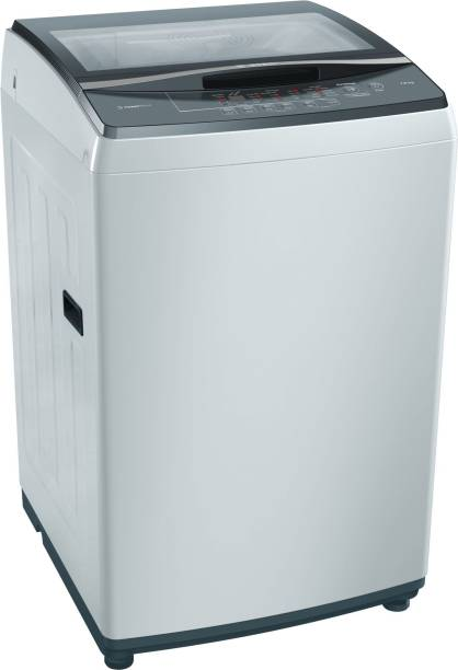 BOSCH 7 kg Fully Automatic Top Load Grey