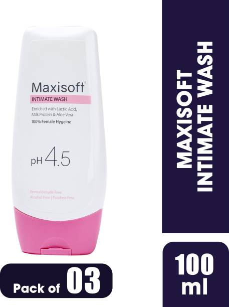 Maxisoft Intimate Wash - Pack of 3 Intimate Wash