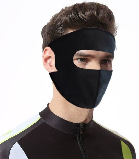 KANDID Black Bike Face Mask for Men & Women