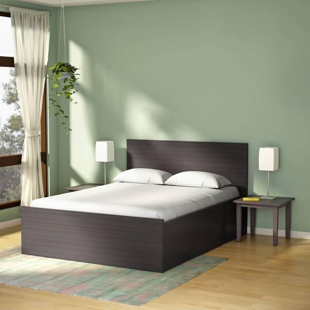 Godrej Interio Terra Engineered Wood King Drawer Bed