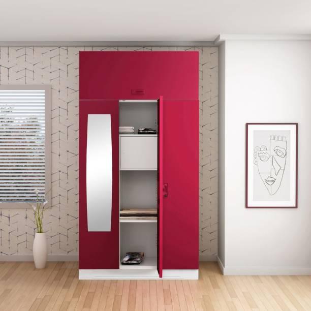 Godrej Interio Slimline 3 Door With Locker Metal Almirah