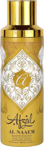 AFZAL Premium Non Alcoholic Al Naaem Deodorant 200ml Deodorant Spray  -  For Men & Women