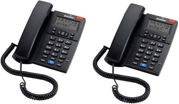 Binatone Concept 700 (Two Way Speaker) - Pack of 2 Pcs Corded Landline Phone