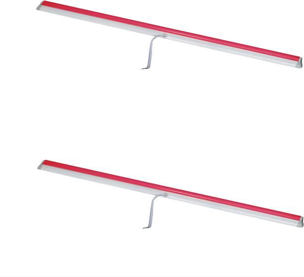 A-Mart 10 Watt 2 foot Red LED Tube Light T5 for Decoration(Pack of 2) Straight Linear LED Tube Light