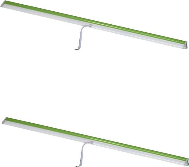 A-Mart 10 Watt 2 foot Green LED Tube Light T5 for Decoration(Pack of 2) Straight Linear LED Tube Light