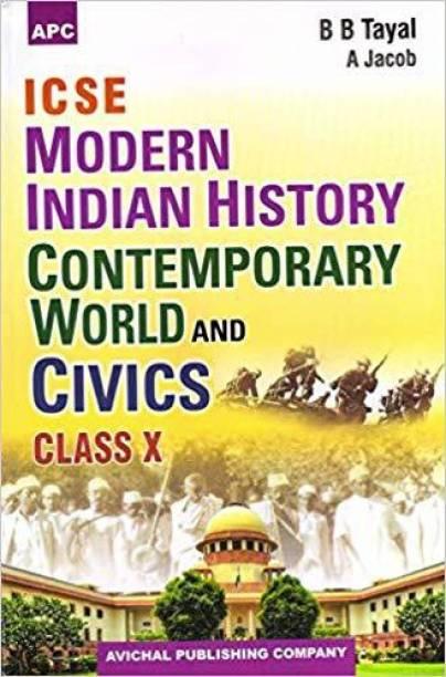 ICSE Modern Indian History Contemporary World & Civics Class X 17th Edition