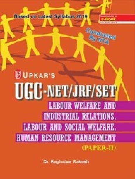 UGC NET/JRF/SET Labour Welfare And Indutrial Relations, Labour And Social Welfare, Human Resource Management (Paper-II & III)