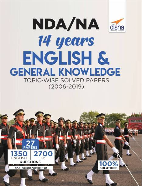 Nda/ Na 14 Years English & General Knowledge Topic-Wise Solved Papers (2006 - 2019)