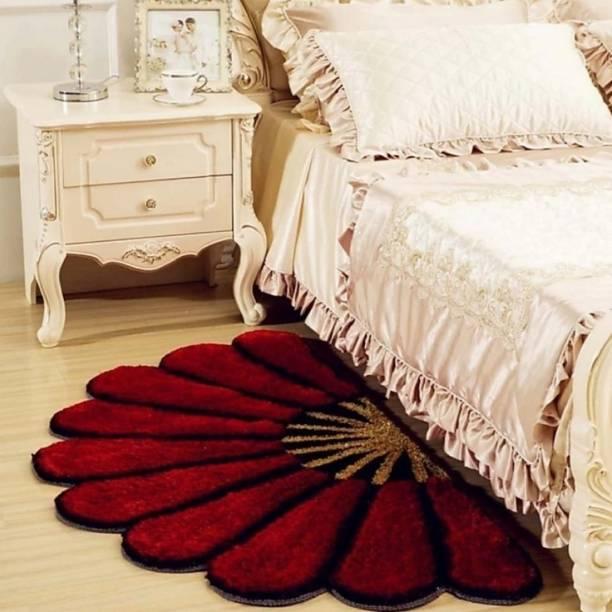 PS Textile Hub Red Blended Area Rug