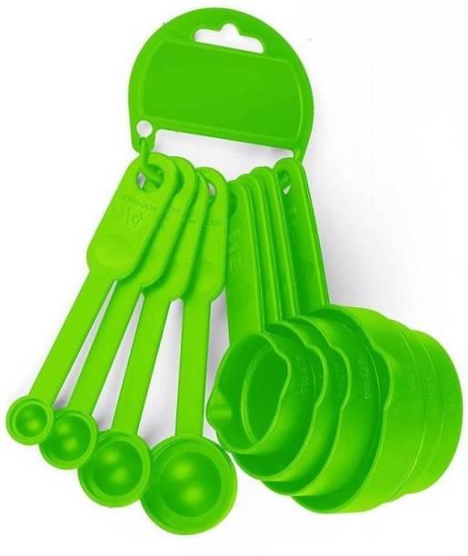 PRAMUKH Green Measuring Cup Set