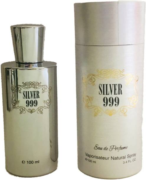 RAMCO Silver 999 Perfume 100ML Each (Pack of 2) Eau de Parfum  -  200 ml