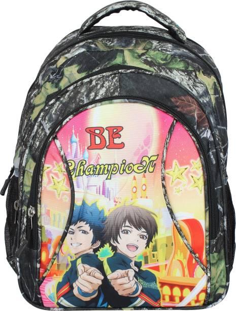 Aadhunik Libaas Printed Lightweight Kids School Bag School Bag