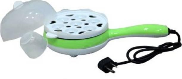 Pitambara Egg Boiler and Non-Stick Electric Frying Pan Round Electric Pan