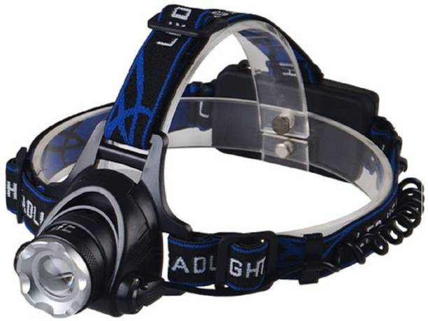 SEAHAVEN LED High Power Zoom Headlamp Camping Night Head Light Torch LED (Blue) LED Headlamp