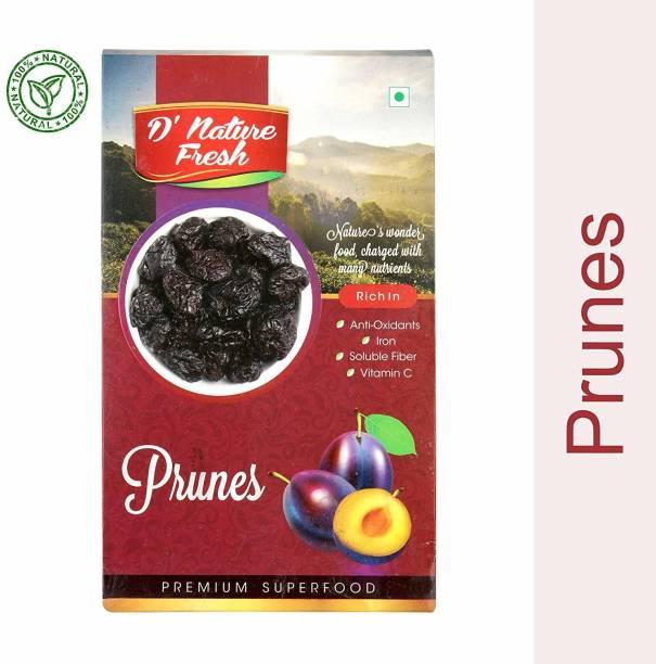 D NATURE FRESH Dried PRUNES 250 gm Prunes