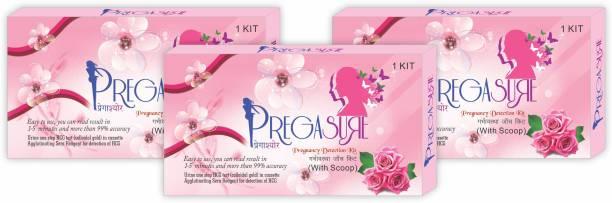 PREGASURE PREGNANCY TEST kit Digital Pregnancy Test Kit