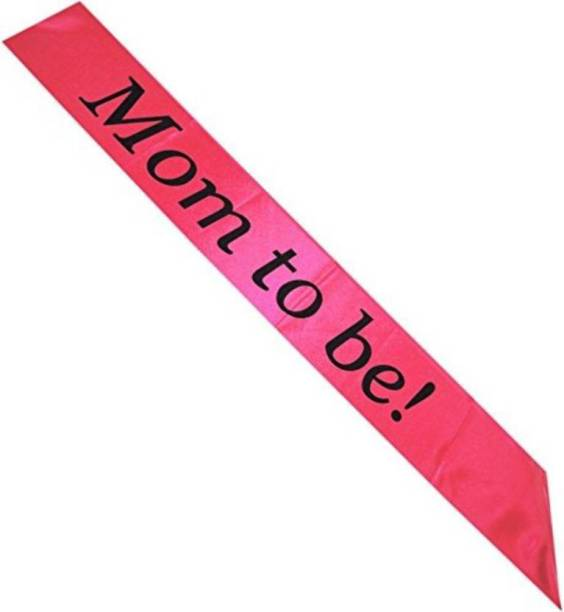 ROCK THE PARTY MOM TO BE SASH BABY SHOWER PARTY SASH
