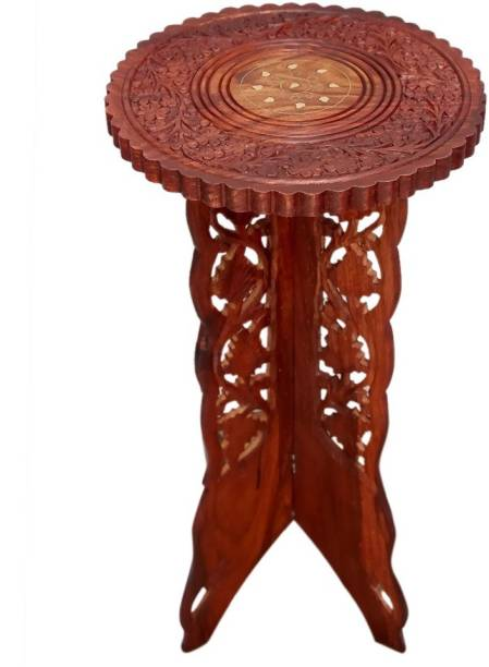wood city handicrafts Solid Wood Side Table