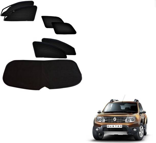 AuTO ADDiCT Side Window, Rear Window Sun Shade For Renault Duster
