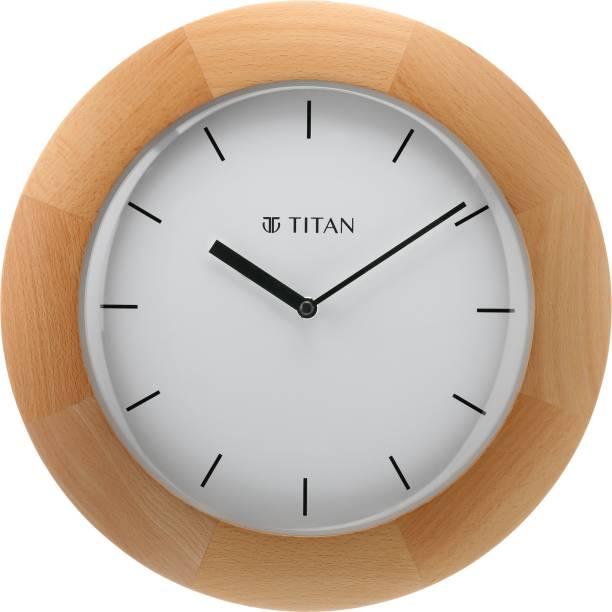 Titan Analog 32 cm X 32 cm Wall Clock