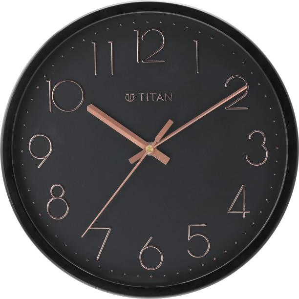 Titan Analog 30.8 cm X 30.8 cm Wall Clock