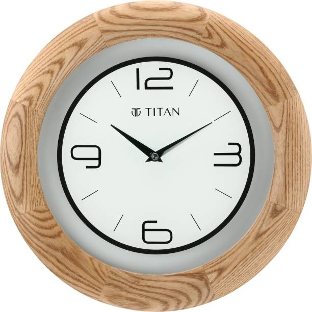 Titan Analog 31.8 cm X 31.8 cm Wall Clock