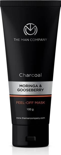 THE MAN COMPANY Charcoal Anti pollution Peel Off Mask to remove Blackheads, dead skin