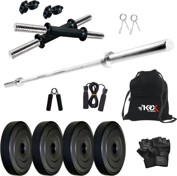 KRX 8 kg PVC COMBO 9 -SL Home Gym Combo