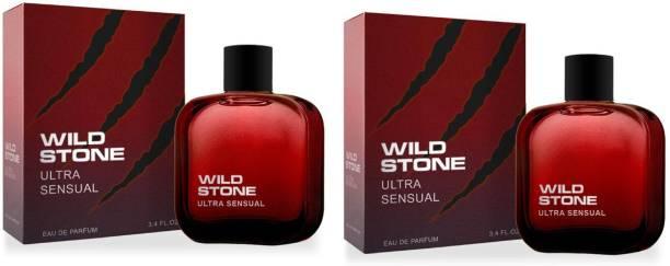 Wild Stone Ultra Sensual EDP Perfume 50ML Each (Pack of 2) Eau de Parfum  -  100 ml