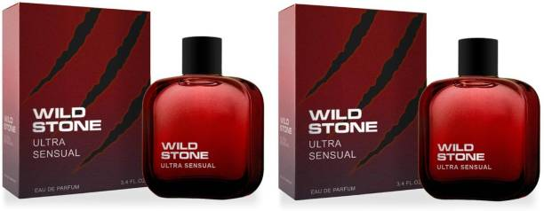Wild Stone Ultra Sensual EDP Perfume 100ml Each (Pack of 2) Eau de Parfum  -  200 ml