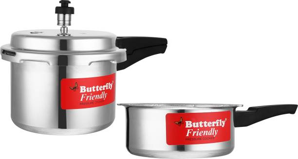 Butterfly Friendly 3 L, 2 L Pressure Cooker