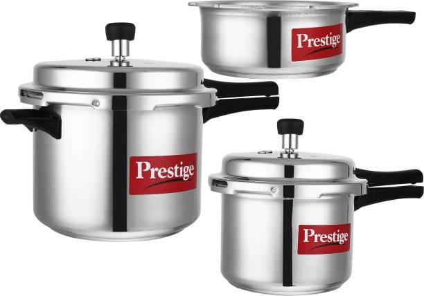 Prestige Popular 2 L, 3 L, 5 L Pressure Cooker