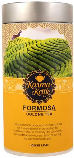 Karma Kettle Formosa- Premium Loose Leaf Oolong Tea Rose Oolong Tea Tin
