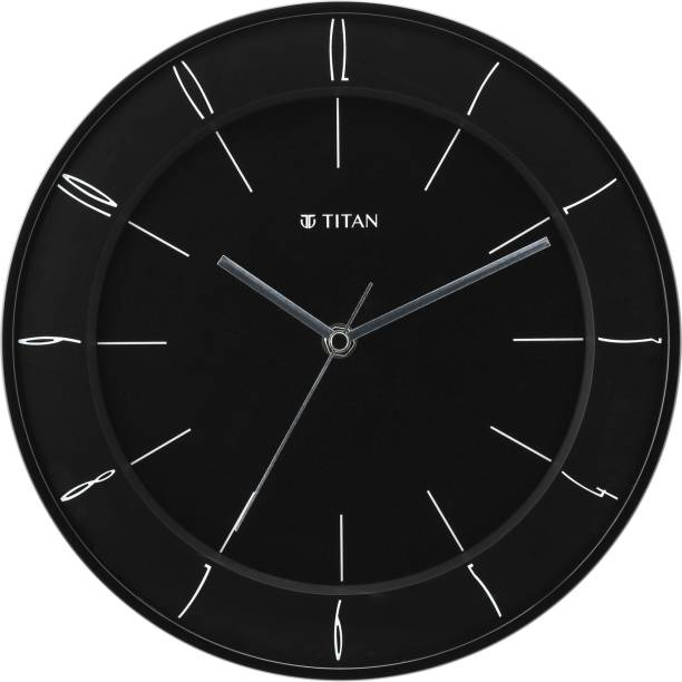 Titan Analog 27 cm X 27 cm Wall Clock