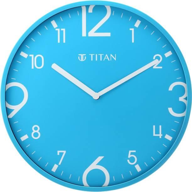 Titan Analog 25.5 cm X 25.5 cm Wall Clock