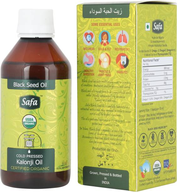Safa Kalonji Oil (Blackseed Oil) 200ml