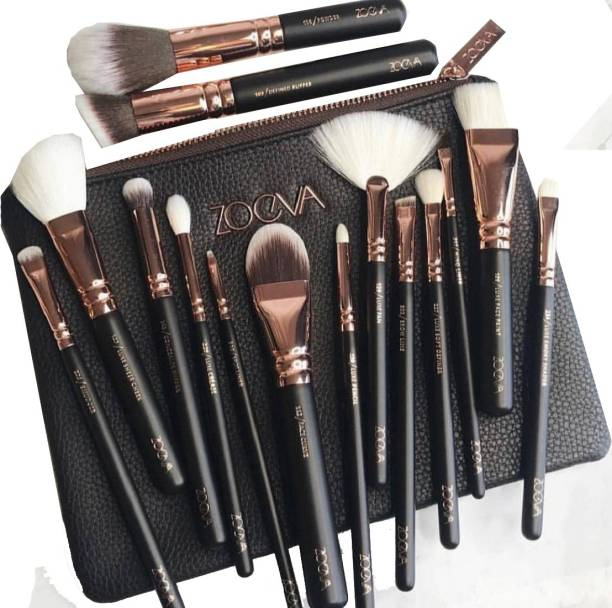 ZOEVA Pure Synthetic Hair 15 Brushes