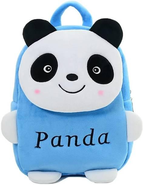 3G Collections Panda Soft Toy Bag, Plush Bag, Teddy Bag School Bag