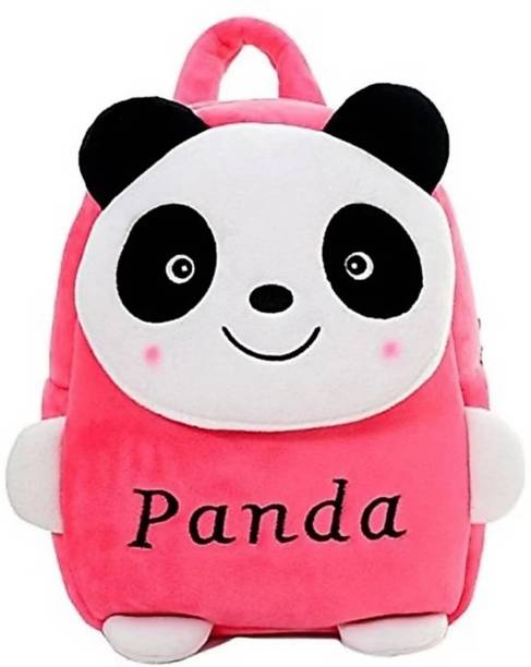 3G Collections Pink Panda Teddy Bear Soft Toy Kids Plush Bag/ Backpack Bag/ School Bag/ Carry Bag/ Picnic Bag/ Teddy Bag Waterproof School Bag