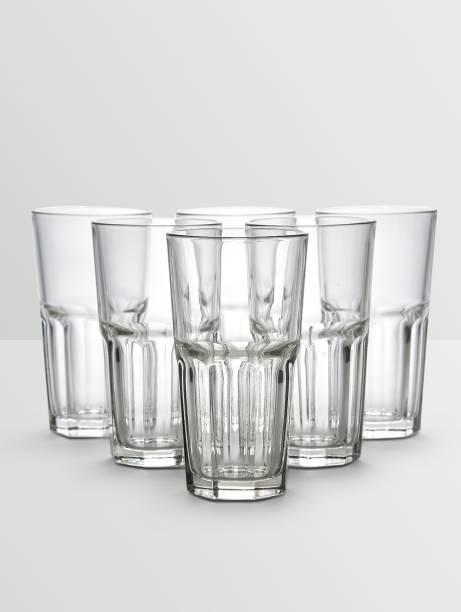 Ocean (Pack of 6) Centro BaveragesGlas (Set of 6)-390 ml Glass Set
