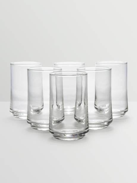 Ocean (Pack of 6) Patio Tumbler Glass (Set of 6)- 290ml Glass Set