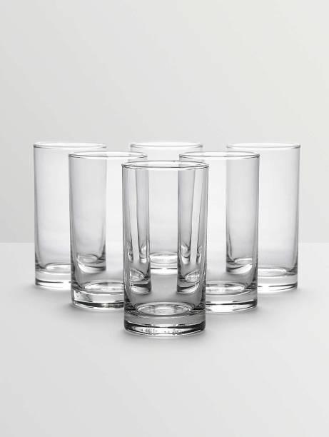 Ocean  Pack of 6  Fin Line 6pcs Glass Set  280ml Glass Set 280 ml, Glass