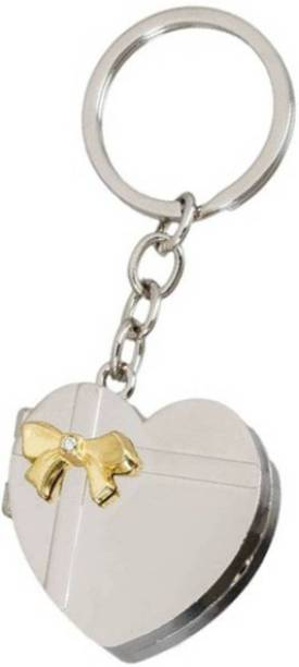 ecstasy Heart-shape Photo Frame for gifting purposes keychain Key Chain