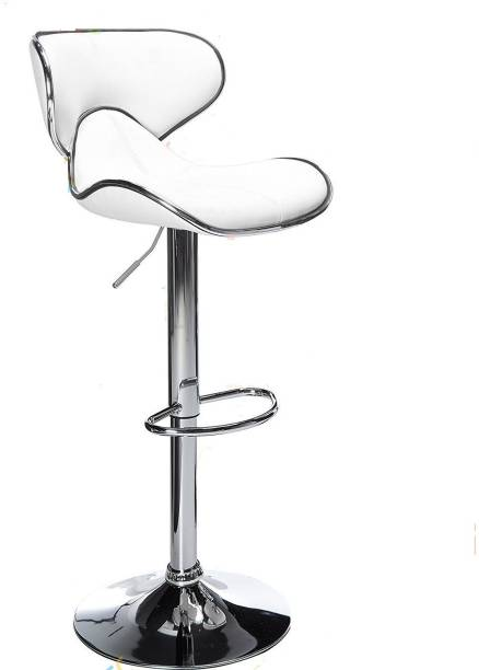 MBTC Horse White Leatherette Bar Stool