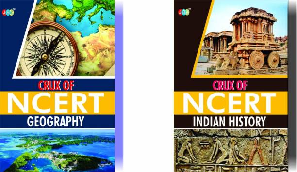 CRUX of NCERT (Geography, Indian History) A Set of 2 Books