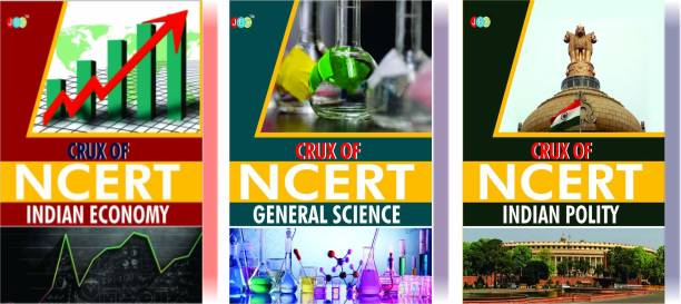 CRUX of NCERT (Indian Economy, General Science, Indian Polity) A Set of 3 Books