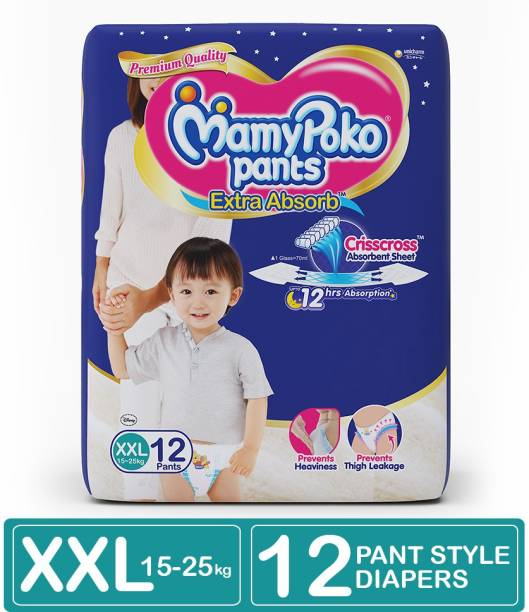 MamyPoko Pants Extra Absorb Diapers - XXL