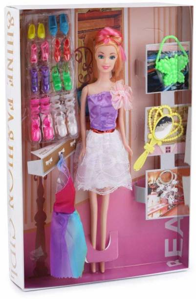 Tenderfeet Doll Set with Accessories, Makeup And Dress